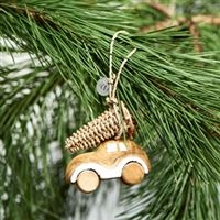 Christmas car ornament Bil