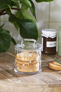 Lovely Heart Storage Jar